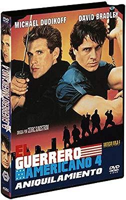 El Guerrero Americano 4 DVD 1990 American Ninja 4: The ...