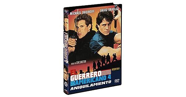 Amazon.com: El Guerrero Americano 4 DVD 1990 American Ninja ...