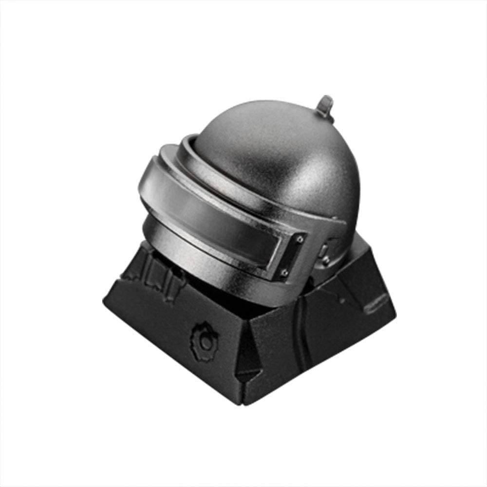 Airdrop Box Suitable for Computer Mechanical Keyboard airdrop Box PUBG LV3 Helmet pan zomo keycap Helmet Metal keycap,Gaming keycap