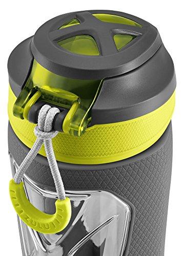 19d69ddb10 Zulu Vapor BPA-Free Plastic Water Bottle with Flip Straw - Import It All