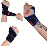 Wrist Supports,Sports Wrist Wraps,Gym Wrist Straps,Wrist Band Guard,Comfort Recovery Helper for Wrist Arthriti