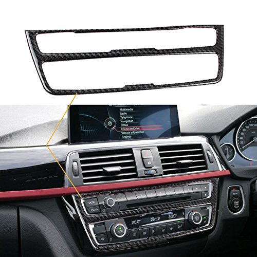 Xotic Tech 1X FULL SET INTERIOR TRIM COVER STICKERS REAL CARBON FIBER FOR BMW 3 4 SERIES by Xotic Tech (Image #2)