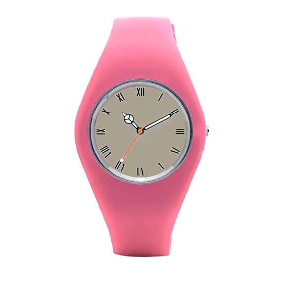timetoshine Mens silicona reloj Pussy país mejor reloj de pulsera marcas: Amazon.es: Relojes