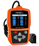 FOXWELL NT201 OBD II Auto Code Scanner Automotive Diagnostic Scan Tool Check Car Engine Light Fault Codes Readers OBDII OBD2 Diagnostics Scanners - Orange