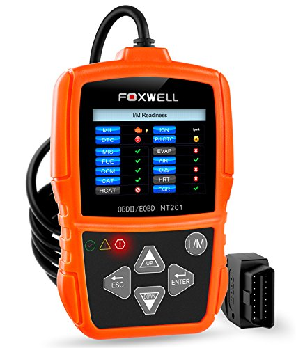 FOXWELL NT201 OBD II Auto Code Scanner Automotive Diagnostic Scan