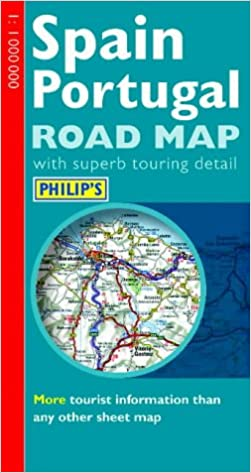 Philip's Road Map of Spain and Portugal (Road Map ... on driving road map spain, driving map of southwest united states, driving road map pena portugal, road map of portugal, road map spain portugal, driving map of france, driving distances europe map, large map of portugal,