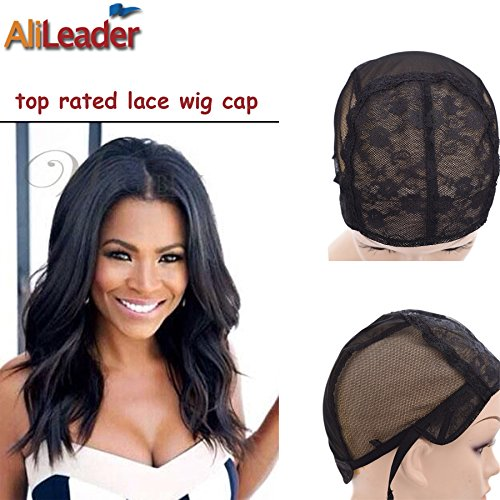 black-double-lace-wig-caps-for-making-wigs-hair-net-with-adjustable-straps-swiss-lace-large-size-fro
