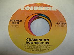 champaign champaign 45 rpm how 39 bout us spinnin 39 music. Black Bedroom Furniture Sets. Home Design Ideas
