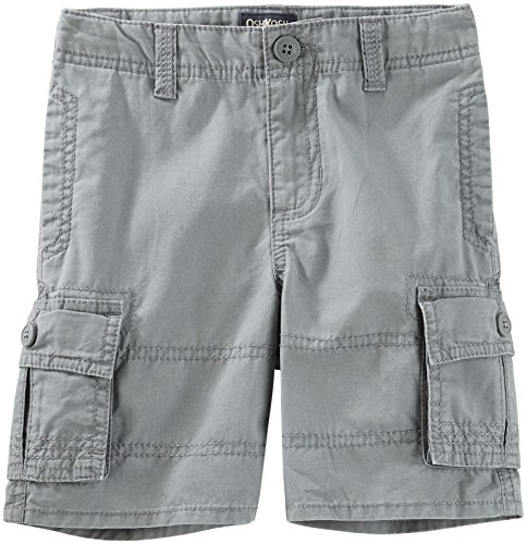 OshKosh B'gosh Baby Boys Woven Short 11771810, Gray, 12 Months Baby