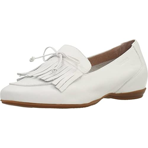 Mocasines para Mujer, Color Blanco, Marca WONDERS, Modelo Mocasines para Mujer WONDERS A3091 Blanco: Amazon.es: Zapatos y complementos