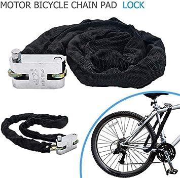 1 cadena antirrobo con 3 llaves, cable antirrobo para bicicleta ...