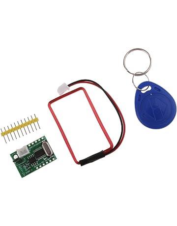 Impermeabile Lettore di Accesso al Magazzino di parcheggio per Veicoli UHF RFID USB 35m//114.8ft per WG26//34 RS232 RS-485 Lettore di schede RFID Spina UE