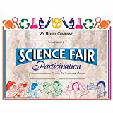 Science Fair Participation Certificate - Glossy Paper - Quantity 150