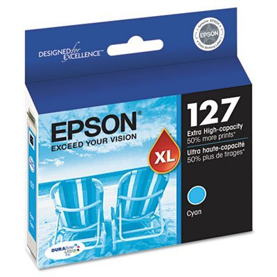 Epson DURABrite T127 Ultra 127 Extra High-capacity Inkjet Cartridge