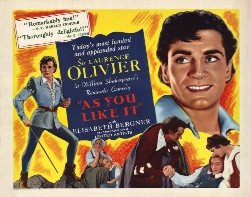 As You Like It Poster Movie 1949 Half Sheet Style A