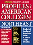 Profiles of American Colleges, Northeast, Barron's Educational Editorial Staff, 0764113194