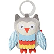 Skip Hop Baby Treetop Friends Wise Owl Stroller Activity Toy, Grey Pastel (Recolor), Multi