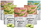 Cheap Amazi Dried & Roasted Plantain Chips Variety Pack – Olive Oil, Coconut Oil, Chili, Cinnamon & Cocoa Flavors – Fair Trade, Gluten-Free, Vegan Chips – Paleo Friendly Healthy Snacks – Variety Pack of 5
