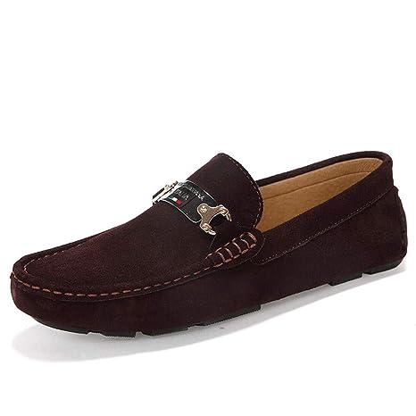 de 2018 Hongjun Chaussures shoes Mocassins Conduite Homme pqxXBfv