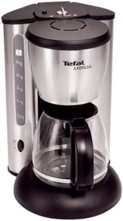 Tefal CM4155 Express coffee maker, Plata/Negro, 1200 W - Máquina ...