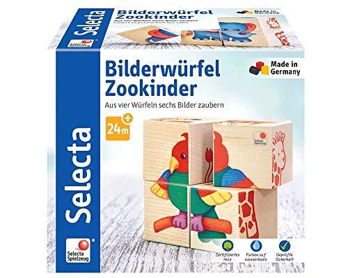 (Selecta 62050Building Blocks Zoo Children)