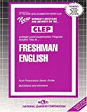 Freshman English, Rudman, Jack, 0837353319