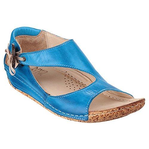 Riva - Sandalias de Vestir Mujer Azul cobalto