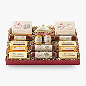 Hickory Farms Meat & Cheese Gift Box Assortment