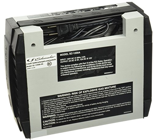 Schumacher SC 1200A CA SpeedCharge 12Amp 612V Fully Automatic Battery Charger