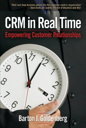 Download CRM in Real Time: Empowering Customer Relationships Pdf