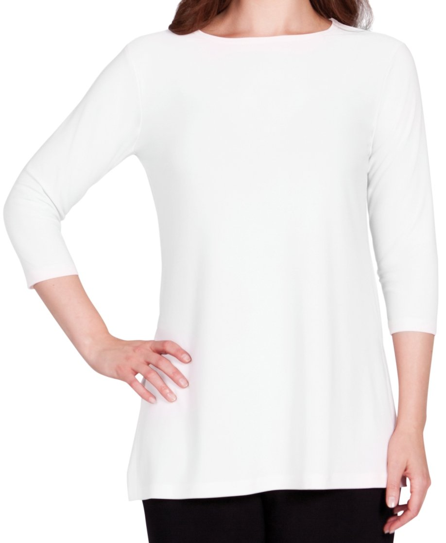 Sympli Womens Nu Ideal Tunic 3/4 Sleeves