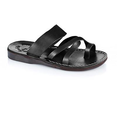 Jerusalem Sandals Men's The Good Shepard Slide Sandal | Sport Sandals & Slides