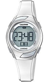 Calypso K5738/1, Reloj Digital para Mujer de Cuarzo con Correa de Plástico,