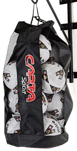 CARTA SPORT Fußball Netball Basketball 12Ball Storage Reisetasche Carry Sack nur