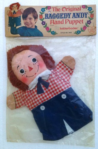 1973 Raggedy Andy Hand Puppet By Knickerbocker 10
