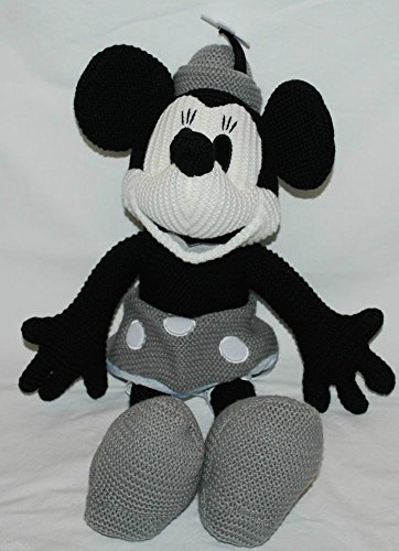 disney minnie mouse crochet plush - limited edition steamboat willie