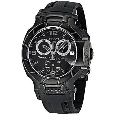 4044933e5a5 Tissot Tissot T-Race Chronograph Quartz Sport Mens Watch T0484173705700   goldia  Amazon.co.uk  Jewellery