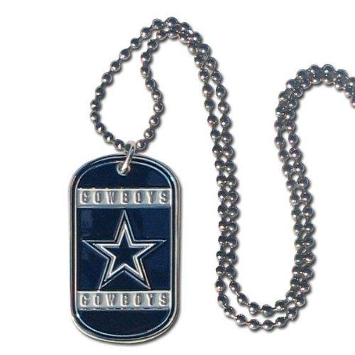 Dallas Cowboys Steel Football (NFL Dallas Cowboys Dog Tag Necklace)