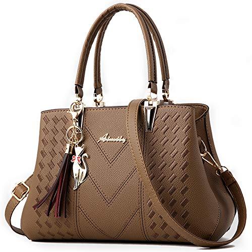 (ALARION Womens Purses and Handbags Shoulder Bag Ladies Designer Satchel Messenger Tote Bag)