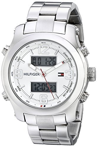 Tommy-Hilfiger-Mens-1790948-Cool-Sport-Analog-Digital-and-Stainless-Steel-Bracelet-Watch