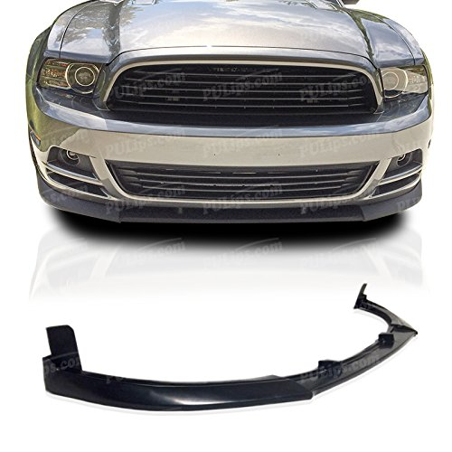 Ford Mustang Spoiler Replacement (PULIps FDMU13CVFAD - GT500 Style Front Chin Spoiler For Ford Mustang 2013-2014 V6/V8 )