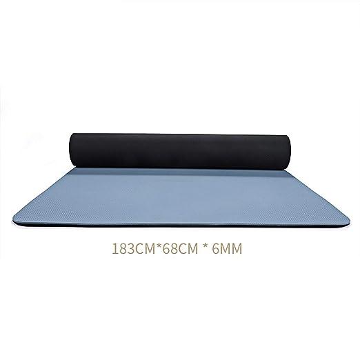 Estera de Yoga para Mujer, Antideslizante, Engrosamiento ...