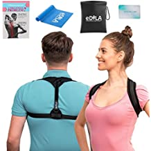 Posture Corrector Brace for Women Men and Kids - Wearable Underclothes & Adjustable Clavicle Support Upper Back Neck Pain Relief - Shoulder Hunch Back Postural Correction (Model 9)