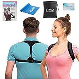 Posture Corrector Brace for Women Men and Kids - Wearable Underclothes & Adjustable Clavicle Support Upper Back Neck Pain Relief - Shoulder Hunch Back Postural Correction (Model 9)