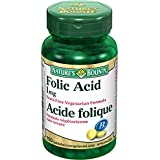 Nature's Bounty Folic Acid 1mg 150 count
