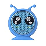 Mini Bluetooth Animal Snail Octopus Wireless Speaker True Wireless Stereo Technology TWS 3W Audio Driver Powerful Rich Sound High Compatible Remote Selfie For iPhone, iPad, iPod, Smartphone, Tablet PC