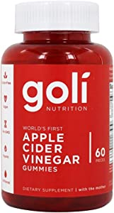 Goli Nutrition Goli nutrition World's First Apple Cider Vinegar Gummies 60 Count, 60 Count