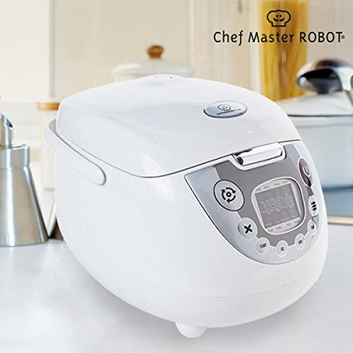 Chef Master robot multi-cooker (Capacity 5L, Cooks Rice, Fry, Bake, Soup) – (UK 3 Pin Plug) by Chef Master: Amazon.es