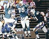 Autographed Bill Stanfill, Manny Fernandez & Vern Den Herder 8x10 Miami Dolphins Photo
