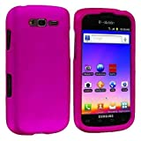 galaxy blaze cover - For T-Mobile Samsung Galaxy S BLAZE 4G Rubberized Hard Phone Case Cover Hot Pink